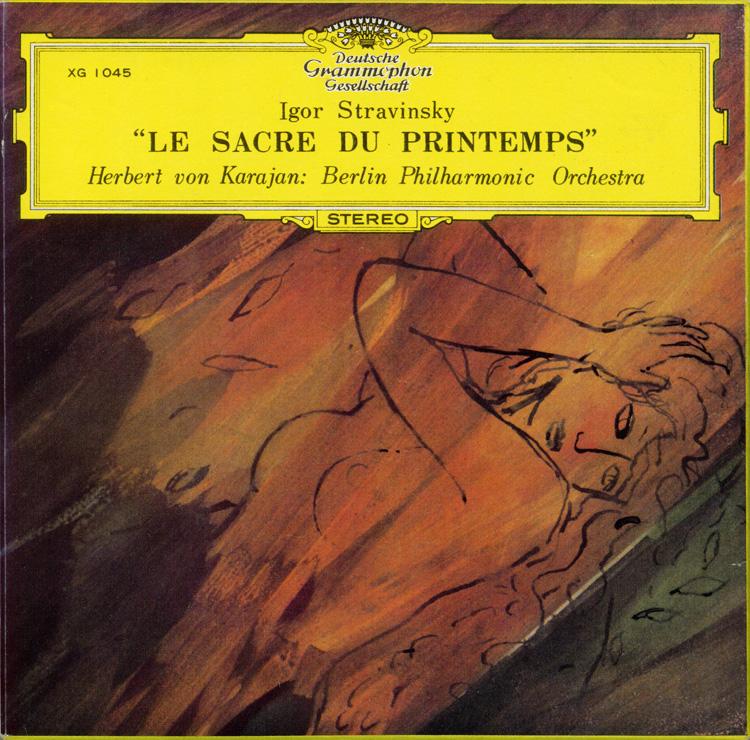 Strawinsky Herbert von Karajan Berliner Philharmoniker Le Sacre Du Printemps